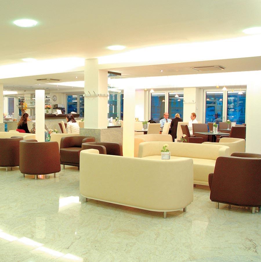 Кафетерий в Венской частной клинике