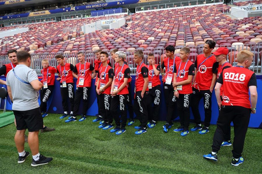 Команда ''Стрела'' наматчах Чемпионата мира пофутболу FIFA 2018