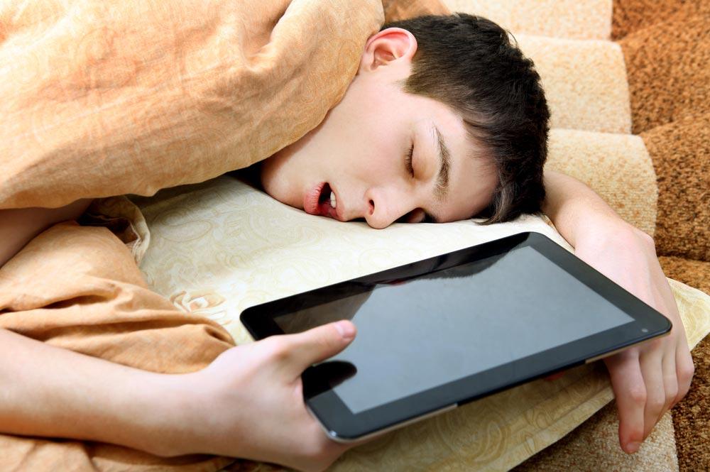 Ваш ребенок высыпается?