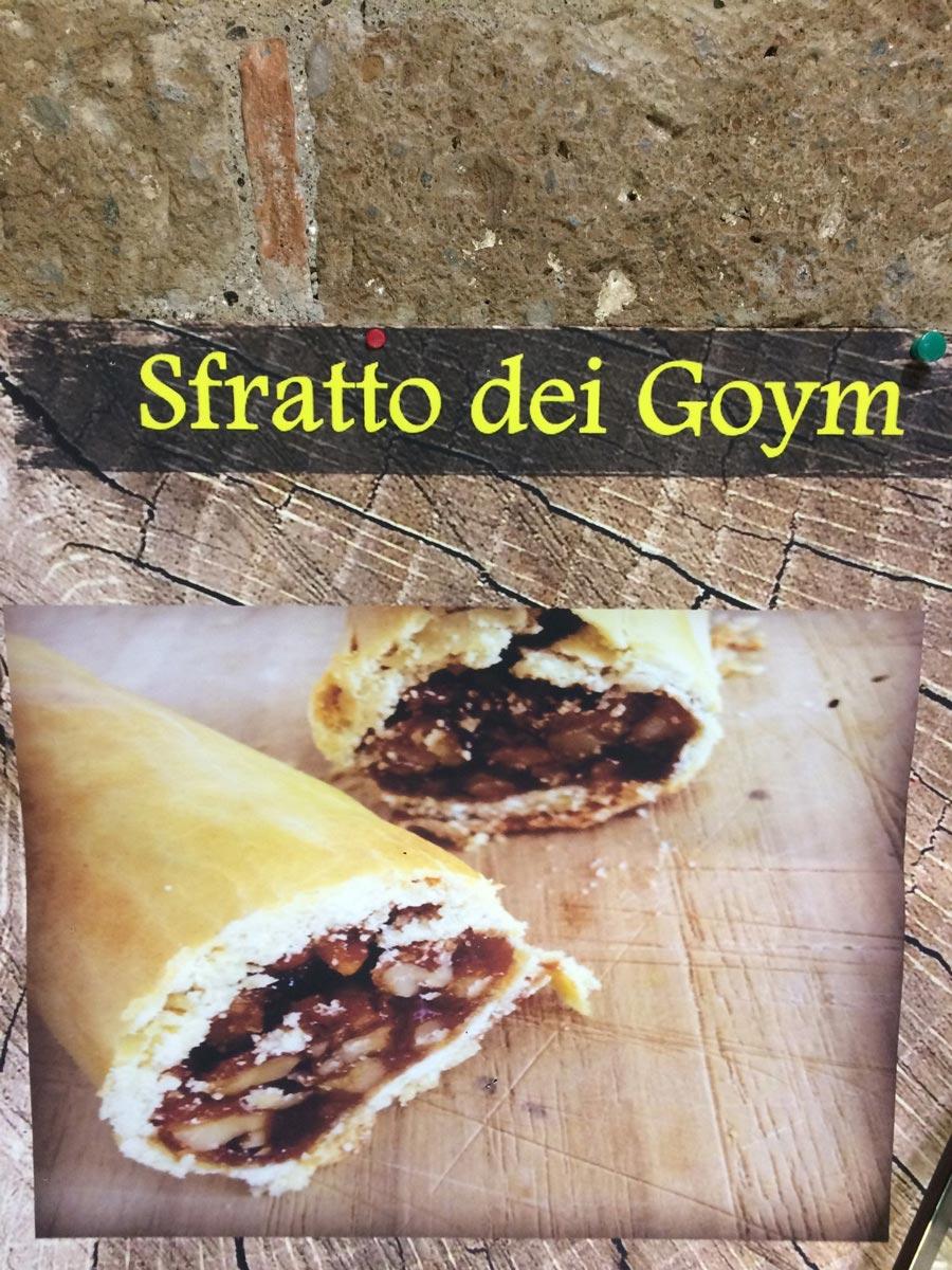 Десерт sfratto