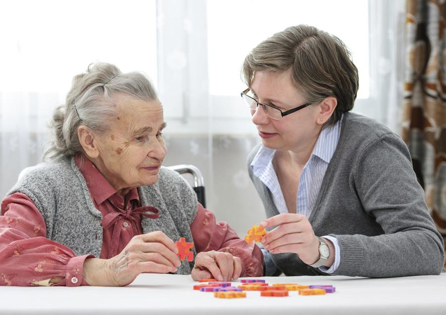Уход за стареющими родителями