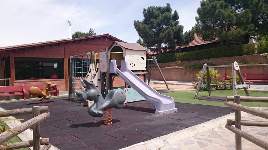 Детская площадка кемпинга Prades