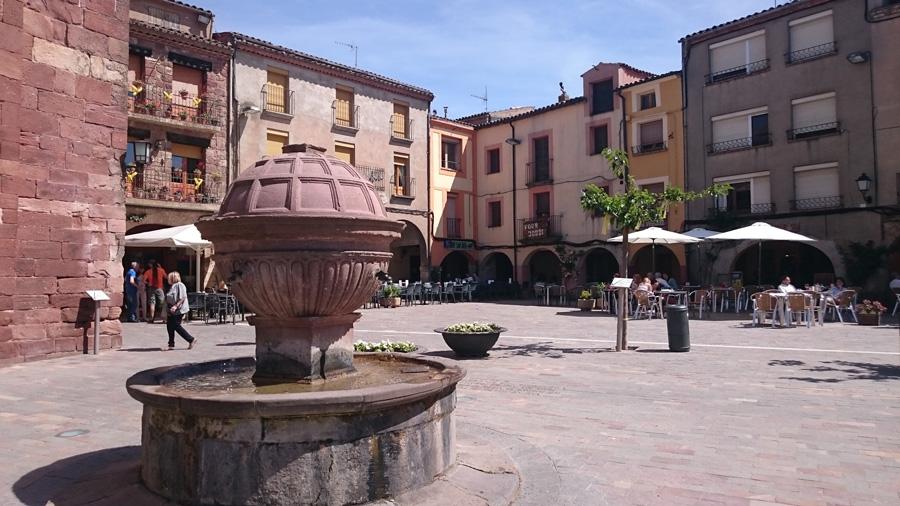 Красные стены города Прадес