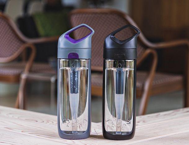 Многоразовая бутылка сфильтром для воды
