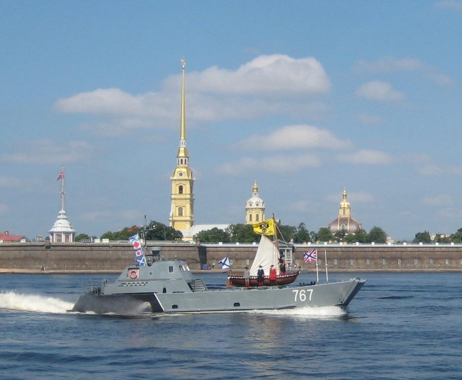 Катер Д-67 Балтийского флота