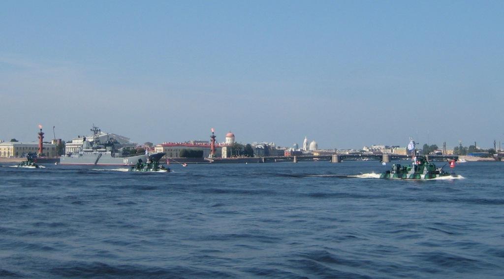 Артиллерийские катера Каспийской флотилии