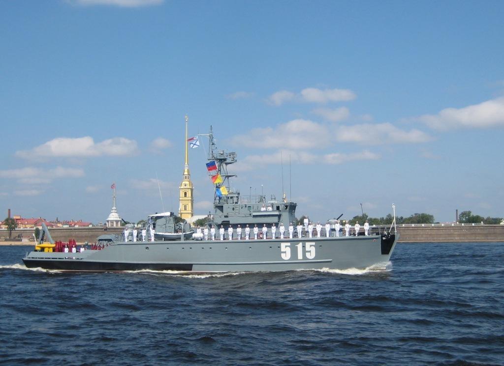 Базовый тральщик БТ-115