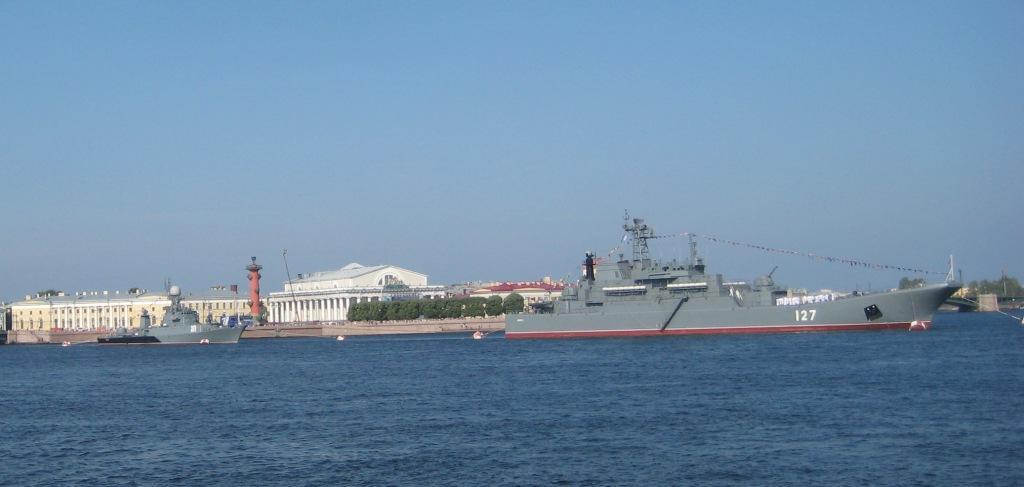 Парад ВМФ в Питере