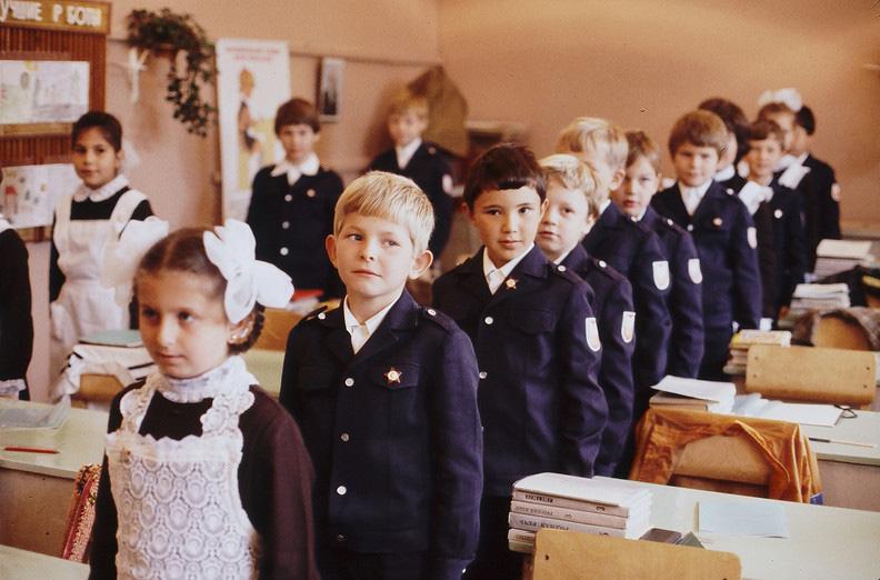 Школа 80-х