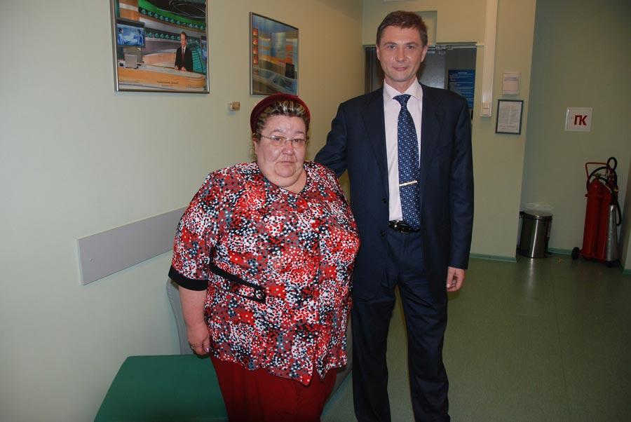 Пациентка доктора Гаврилова Надежда Сергеева изМинусинска, фото допохудения