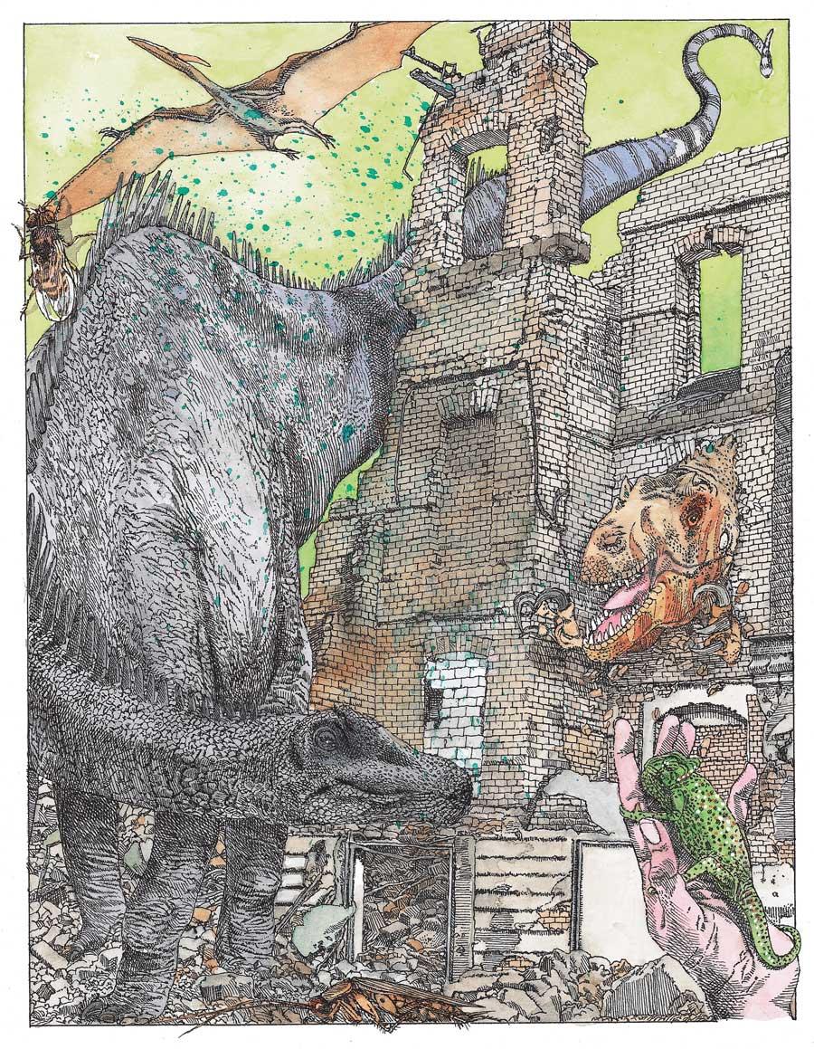 Как находят остатки динозавров иопределяют ихвозраст