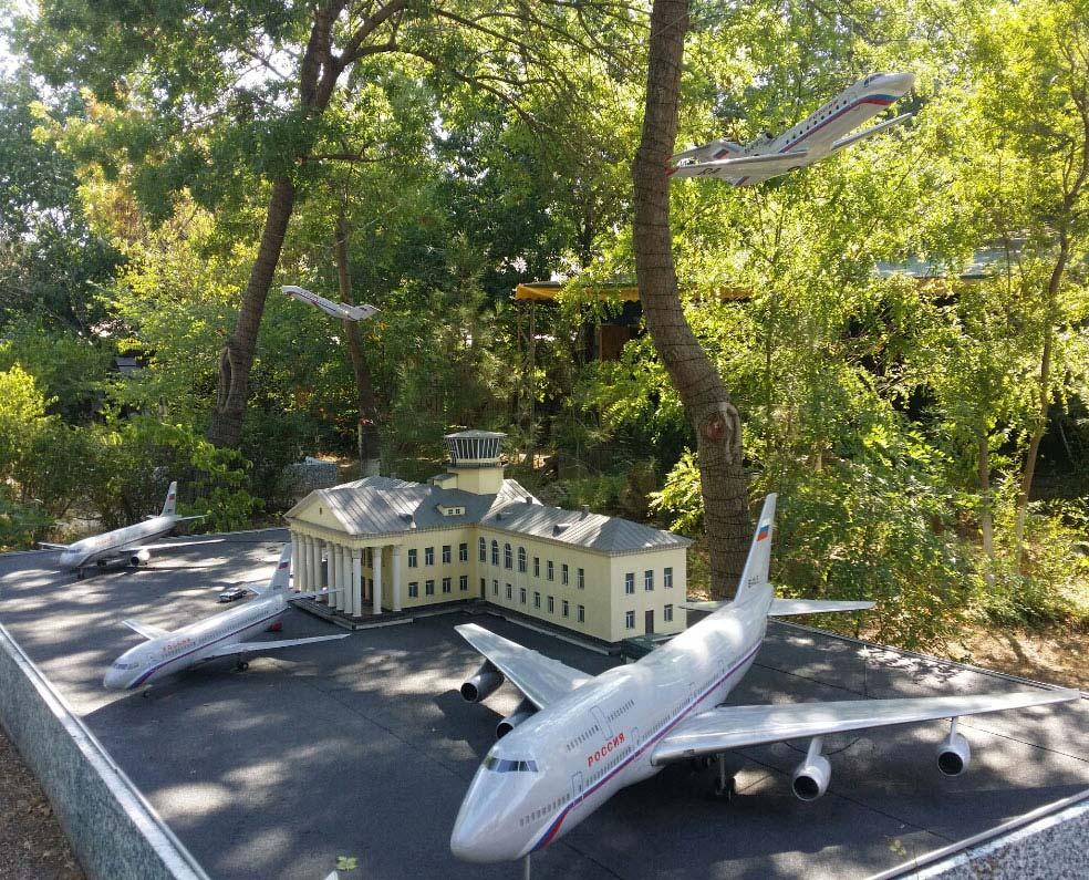 Музей миниатюр, аэропорт Симферополя