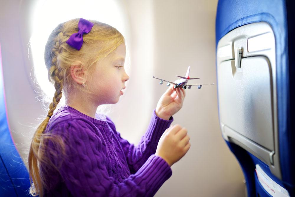 Можетли ребенок лететь один