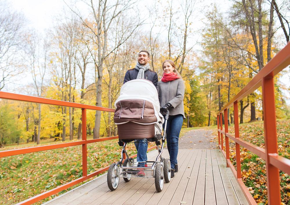 Почему вредно гулять сноворожденным