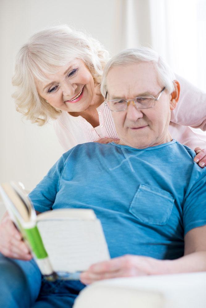 Старческая деменция, уход
