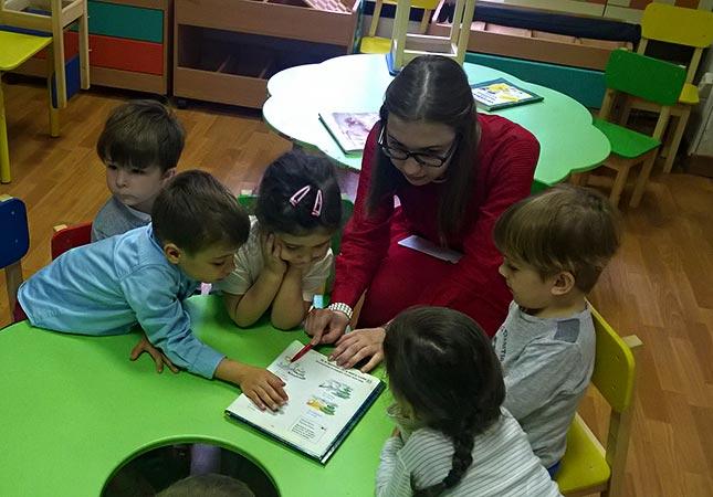 Детский сад, скоторым повезло