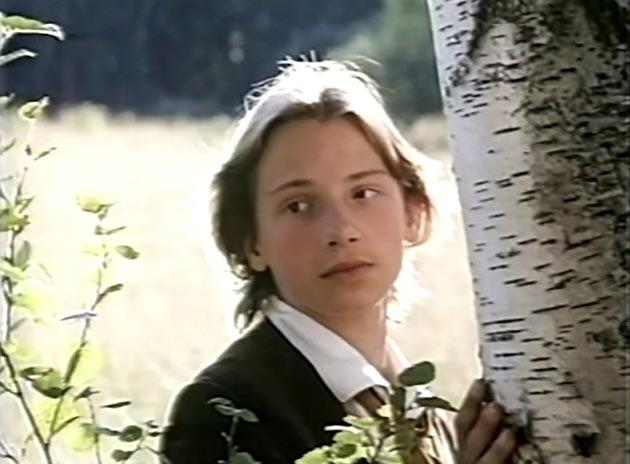 Кадр из фильма ''Первая любовь'', 1995