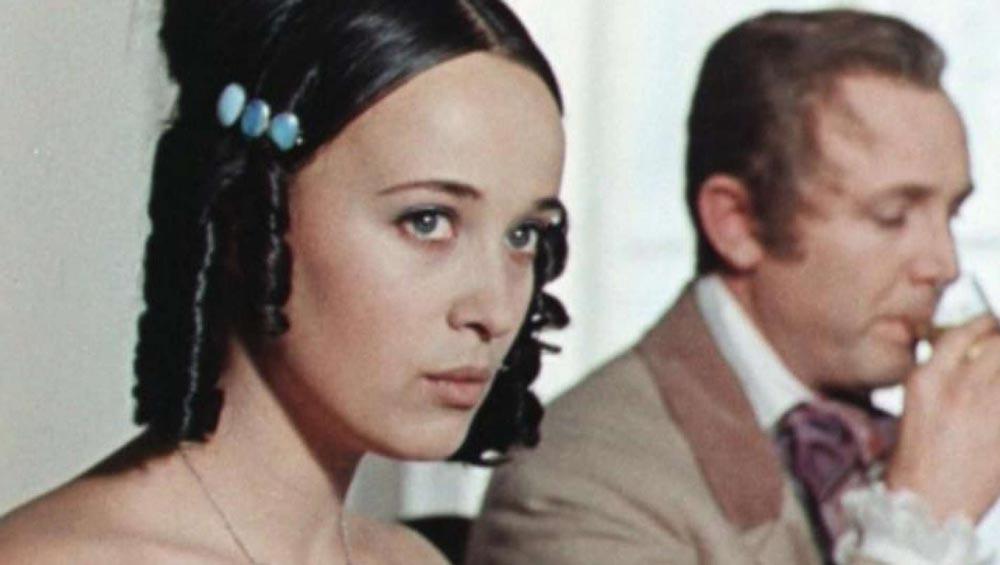 Кадр из фильма ''Первая любовь'', 1968