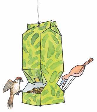 Автомат для семечек— кормушка измолочного пакета