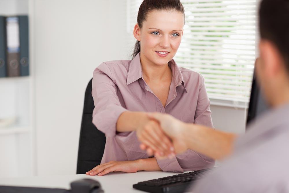Собеседование при приеме наработу