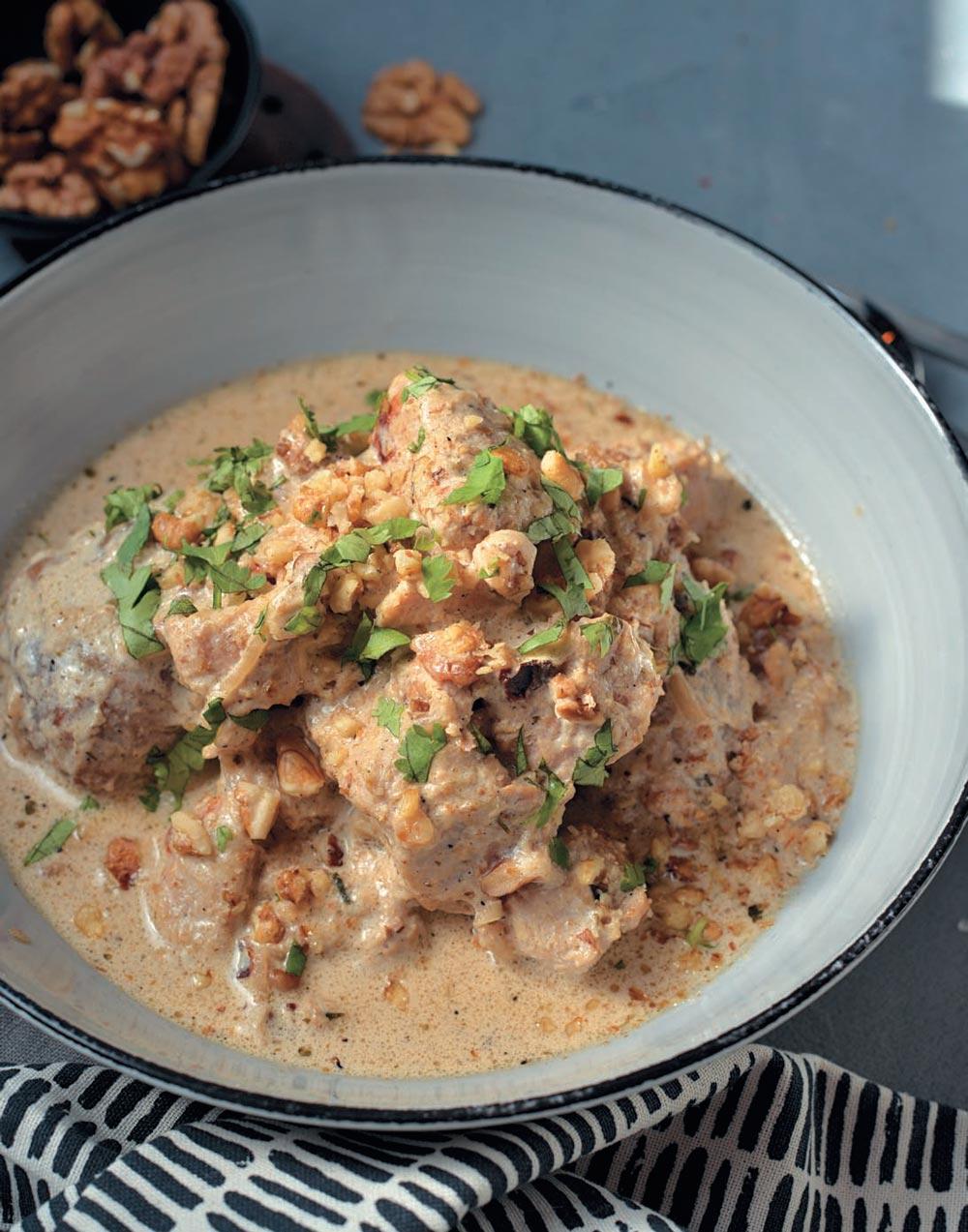 сациви из курицы грузинский рецепт с фото