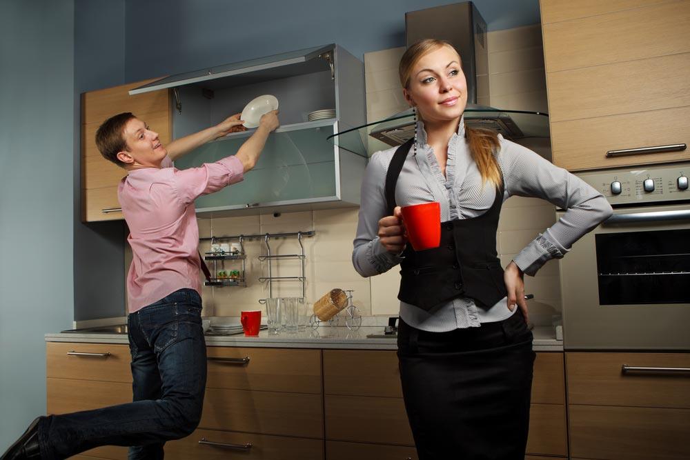 Равенство полов — или женский домашний труд?
