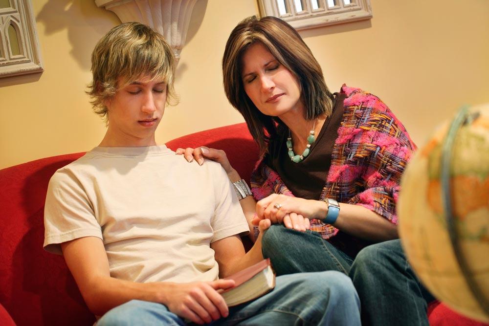 Отношения со взрослым сыном
