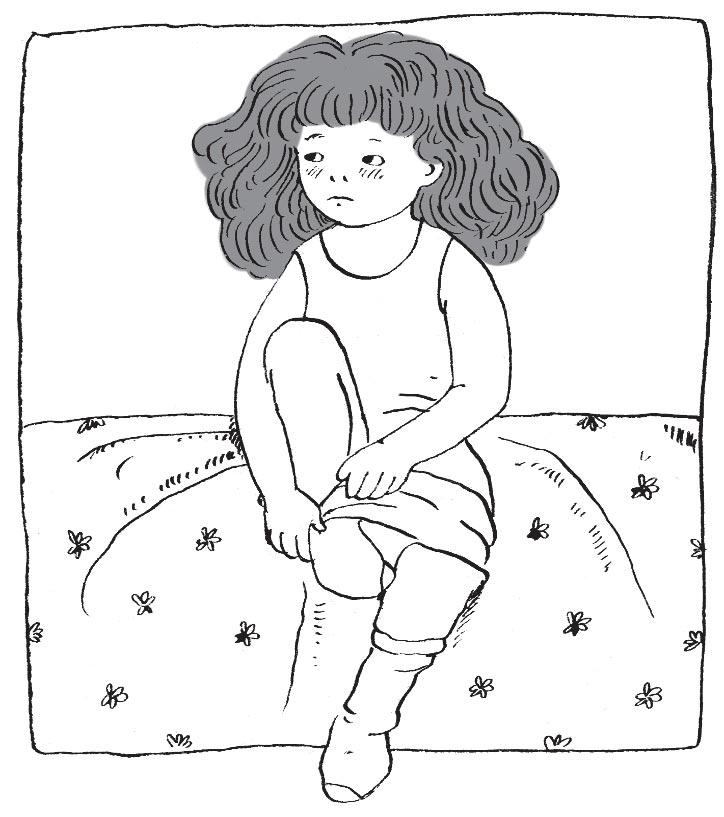 Ребенок привыкает к детскому саду или школе