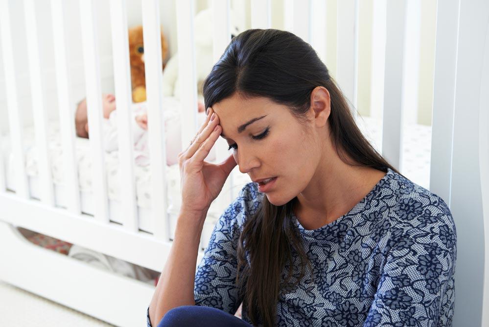 Как возникает послеродовая депрессия