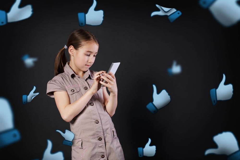 Дети всоциальных сетях