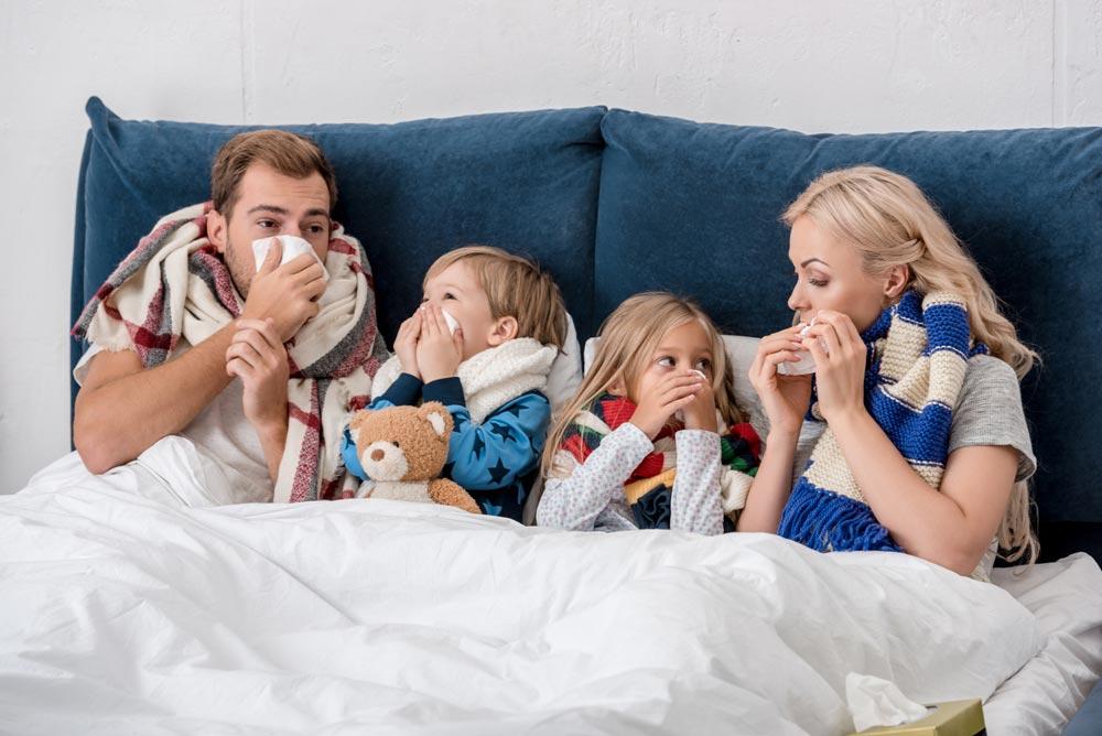 Лечение насморка у взрослых и детей