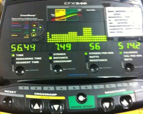 Тренироваться в спортзале