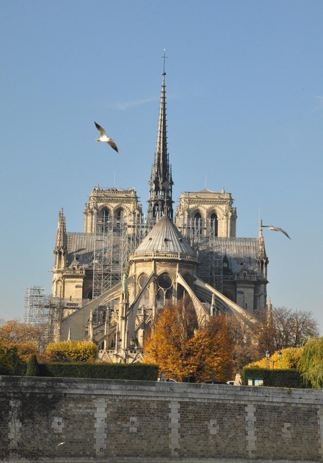 Собор Парижской богоматери (Notre-Dame deParis): горбун игоргульи