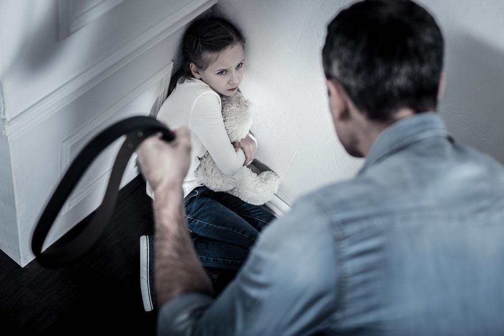 Если ребенка били вдетстве