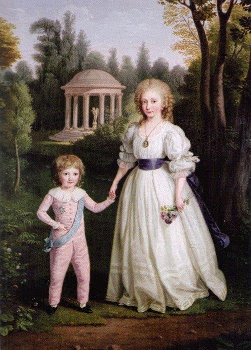 Дети Людовика XVI иМарии-Антуанетты