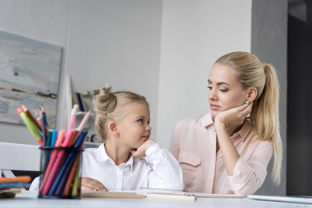 Если ребенок доночи делает домашнее задание