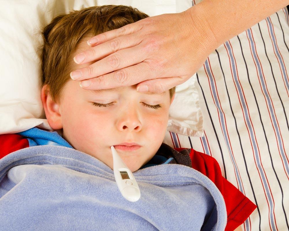 Причины повышения температуры тела