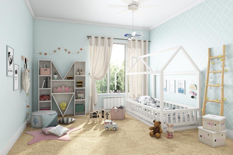Как создать интерьер детской комнаты
