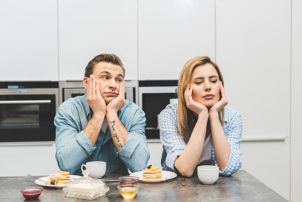 Муж невидит никаких проблем