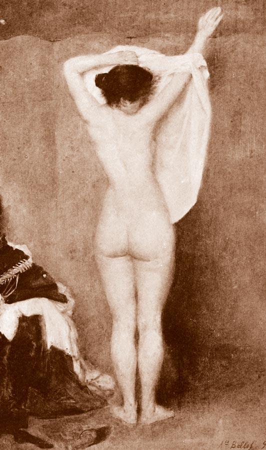 Корсет, кринолин, нижняя юбка