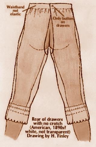 Открытые панталоны