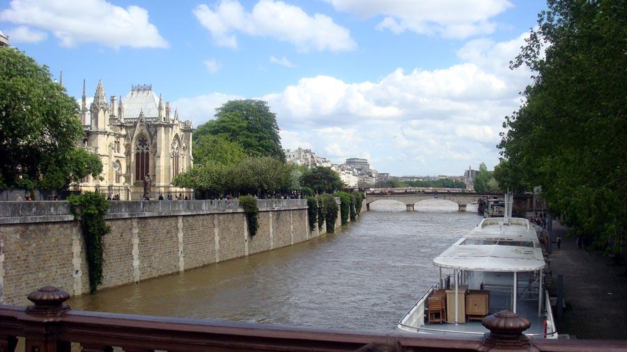 Хотела побывать в Париже