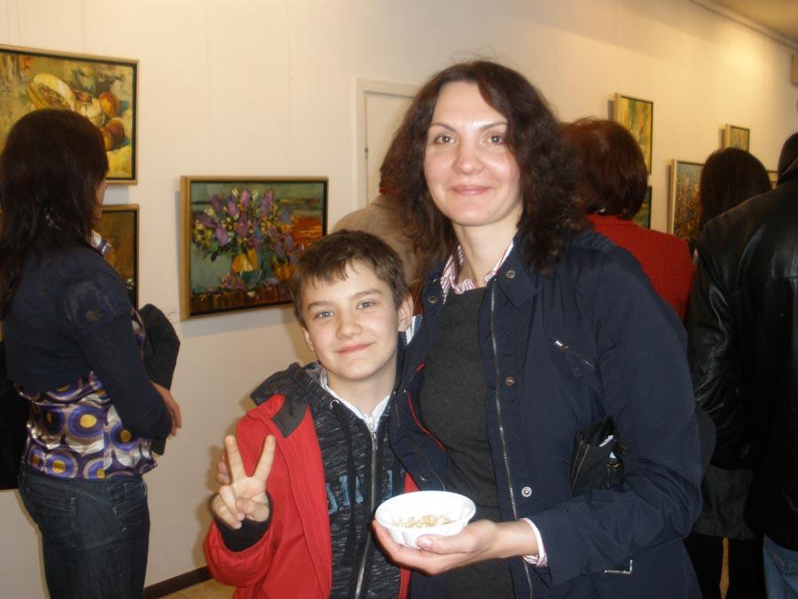 Татьяна и Саша Борисовы, фото из семейного архива