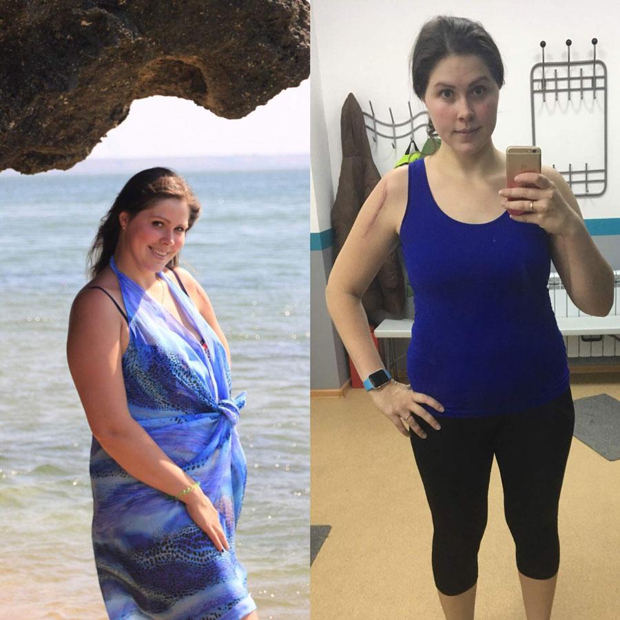 Опыт похудения