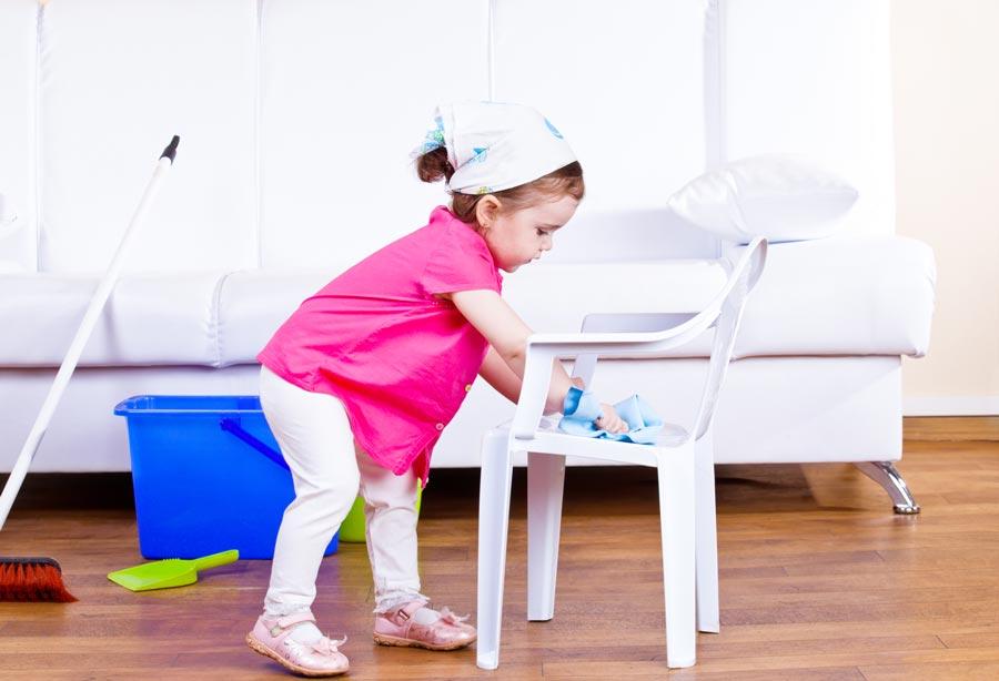 Почему родители непривлекают детей кдомашним делам