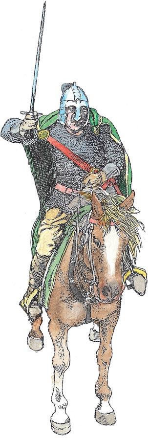 Конники против пехотинцев