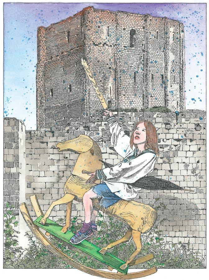 Зачем рыцари строили замки