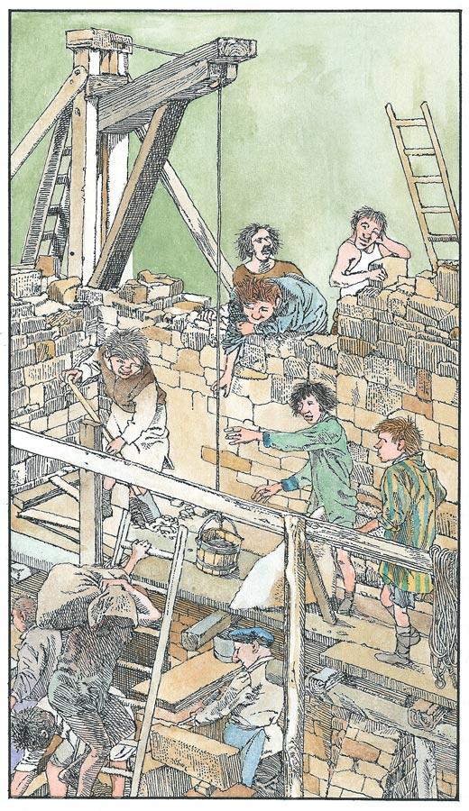 Как построить замок икак его захватить?