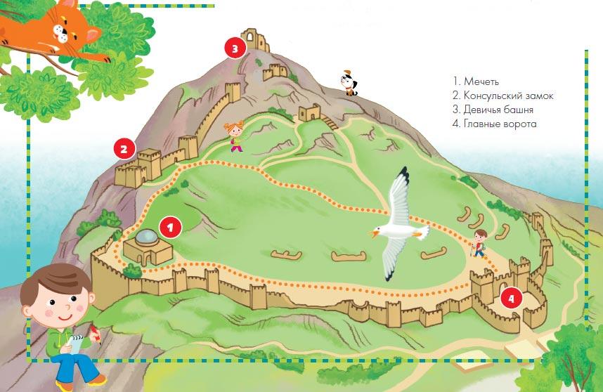 Пешеходные маршруты одного дня в Крыму