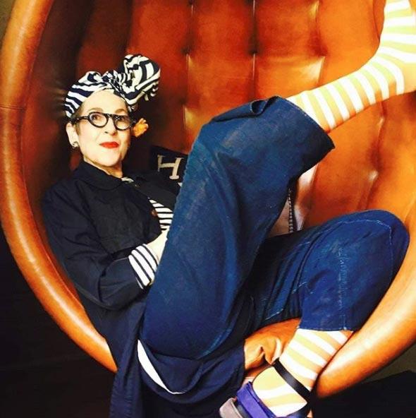 Ципора Саламон, 65лет, модель иколлекционер одежды
